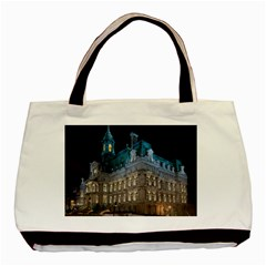 Montreal Quebec Canada Building Basic Tote Bag (Two Sides)