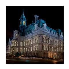 Montreal Quebec Canada Building Face Towel