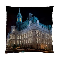 Montreal Quebec Canada Building Standard Cushion Case (Two Sides)