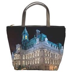 Montreal Quebec Canada Building Bucket Bags