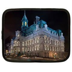Montreal Quebec Canada Building Netbook Case (XL)