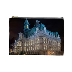 Montreal Quebec Canada Building Cosmetic Bag (Large)