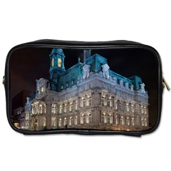Montreal Quebec Canada Building Toiletries Bags 2-Side