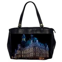 Montreal Quebec Canada Building Office Handbags