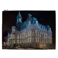 Montreal Quebec Canada Building Cosmetic Bag (XXL)
