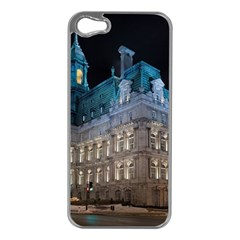 Montreal Quebec Canada Building Apple iPhone 5 Case (Silver)