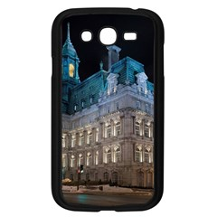 Montreal Quebec Canada Building Samsung Galaxy Grand DUOS I9082 Case (Black)