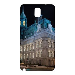 Montreal Quebec Canada Building Samsung Galaxy Note 3 N9005 Hardshell Back Case
