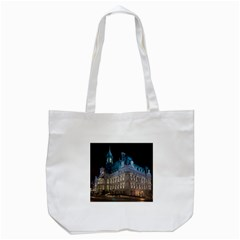 Montreal Quebec Canada Building Tote Bag (White)