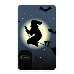 Halloween Card With Witch Vector Clipart Memory Card Reader