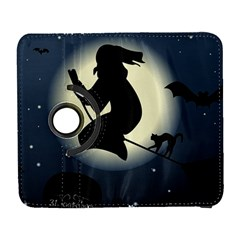 Halloween Card With Witch Vector Clipart Galaxy S3 (flip/folio)