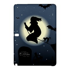 Halloween Card With Witch Vector Clipart Samsung Galaxy Tab Pro 10.1 Hardshell Case