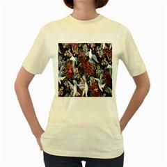 Quilt Women s Yellow T-Shirt