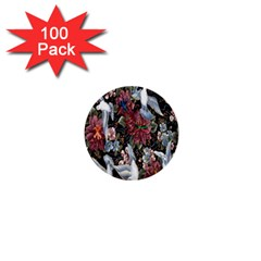 Quilt 1  Mini Buttons (100 pack)