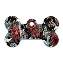 Quilt Dog Tag Bone (Two Sides)