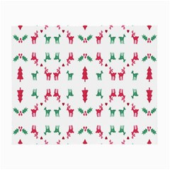 Reindeer Pattern Small Glasses Cloth