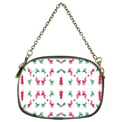 Reindeer Pattern Chain Purses (One Side)