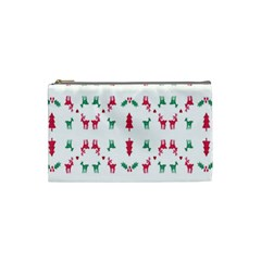 Reindeer Pattern Cosmetic Bag (Small)
