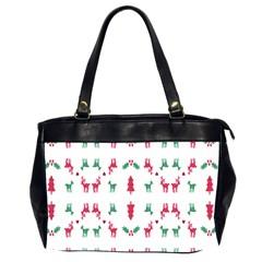 Reindeer Pattern Office Handbags (2 Sides)