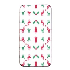 Reindeer Pattern Apple iPhone 4/4s Seamless Case (Black)