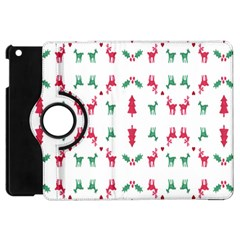 Reindeer Pattern Apple iPad Mini Flip 360 Case