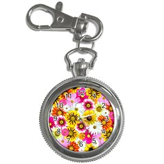 Flowers Blossom Bloom Nature Plant Key Chain Watches