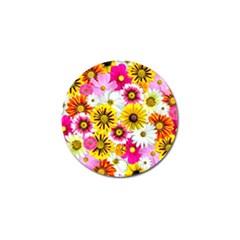 Flowers Blossom Bloom Nature Plant Golf Ball Marker (4 pack)