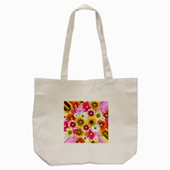 Flowers Blossom Bloom Nature Plant Tote Bag (Cream)