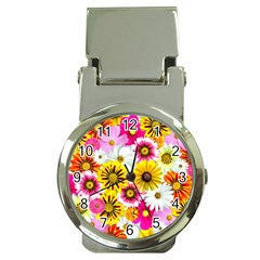 Flowers Blossom Bloom Nature Plant Money Clip Watches