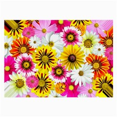 Flowers Blossom Bloom Nature Plant Large Glasses Cloth (2-Side)