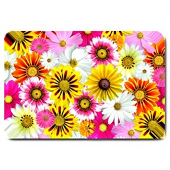 Flowers Blossom Bloom Nature Plant Large Doormat