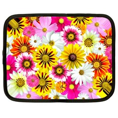 Flowers Blossom Bloom Nature Plant Netbook Case (XL)