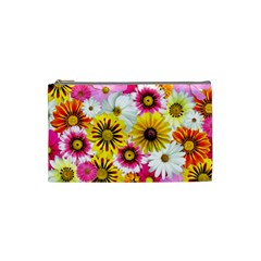 Flowers Blossom Bloom Nature Plant Cosmetic Bag (small)