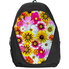Flowers Blossom Bloom Nature Plant Backpack Bag