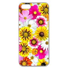 Flowers Blossom Bloom Nature Plant Apple Seamless iPhone 5 Case (Clear)