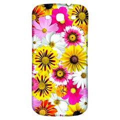 Flowers Blossom Bloom Nature Plant Samsung Galaxy S3 S III Classic Hardshell Back Case
