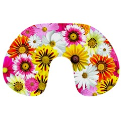 Flowers Blossom Bloom Nature Plant Travel Neck Pillows