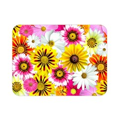 Flowers Blossom Bloom Nature Plant Double Sided Flano Blanket (mini)