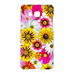 Flowers Blossom Bloom Nature Plant Samsung Galaxy A5 Hardshell Case