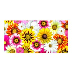 Flowers Blossom Bloom Nature Plant Satin Wrap