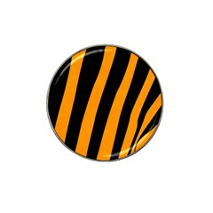 Tiger Pattern Hat Clip Ball Marker