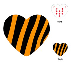 Tiger Pattern Playing Cards (Heart)