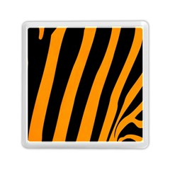 Tiger Pattern Memory Card Reader (Square)