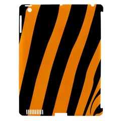 Tiger Pattern Apple iPad 3/4 Hardshell Case (Compatible with Smart Cover)