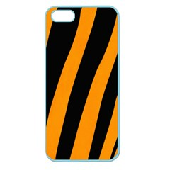 Tiger Pattern Apple Seamless Iphone 5 Case (color)