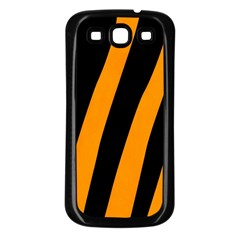 Tiger Pattern Samsung Galaxy S3 Back Case (black)