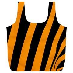 Tiger Pattern Full Print Recycle Bags (L)