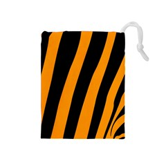 Tiger Pattern Drawstring Pouches (medium)