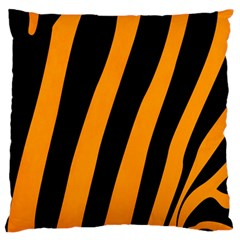 Tiger Pattern Standard Flano Cushion Case (Two Sides)