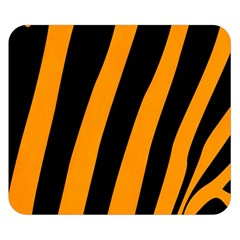 Tiger Pattern Double Sided Flano Blanket (Small)